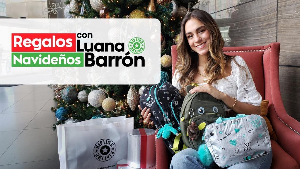 Opciones de regalo con Luana Barrón