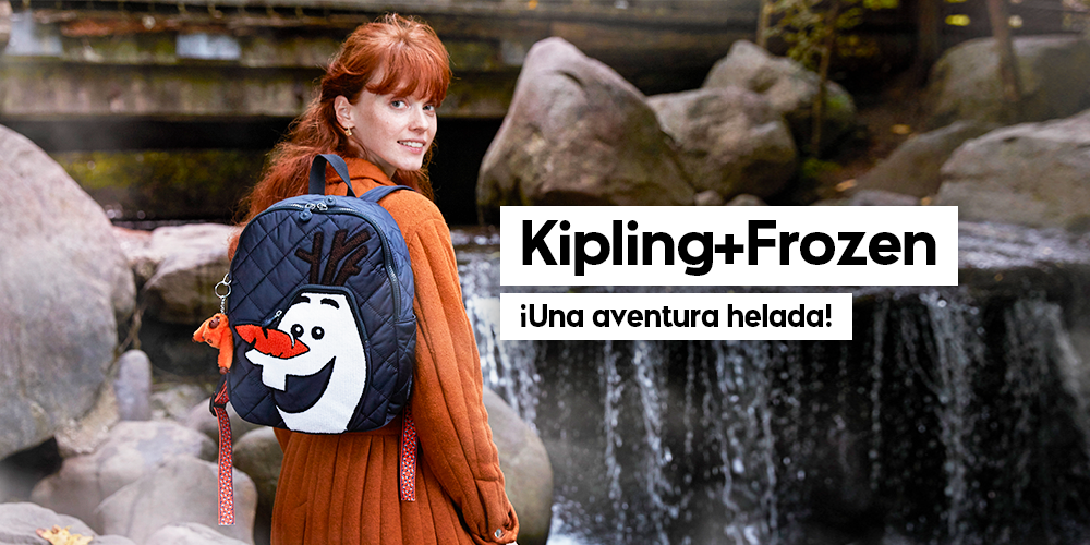 Kipling Frozen… ¡Una aventura helada en verano!