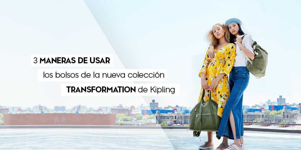 3 maneras de usar los bolsos de la nueva colección Transformation de Kipling